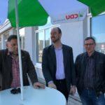 Die Freitaler Union für Freital auf dem Neumarkt