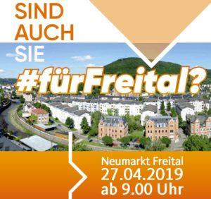 Neumarkt Aktion für Freital